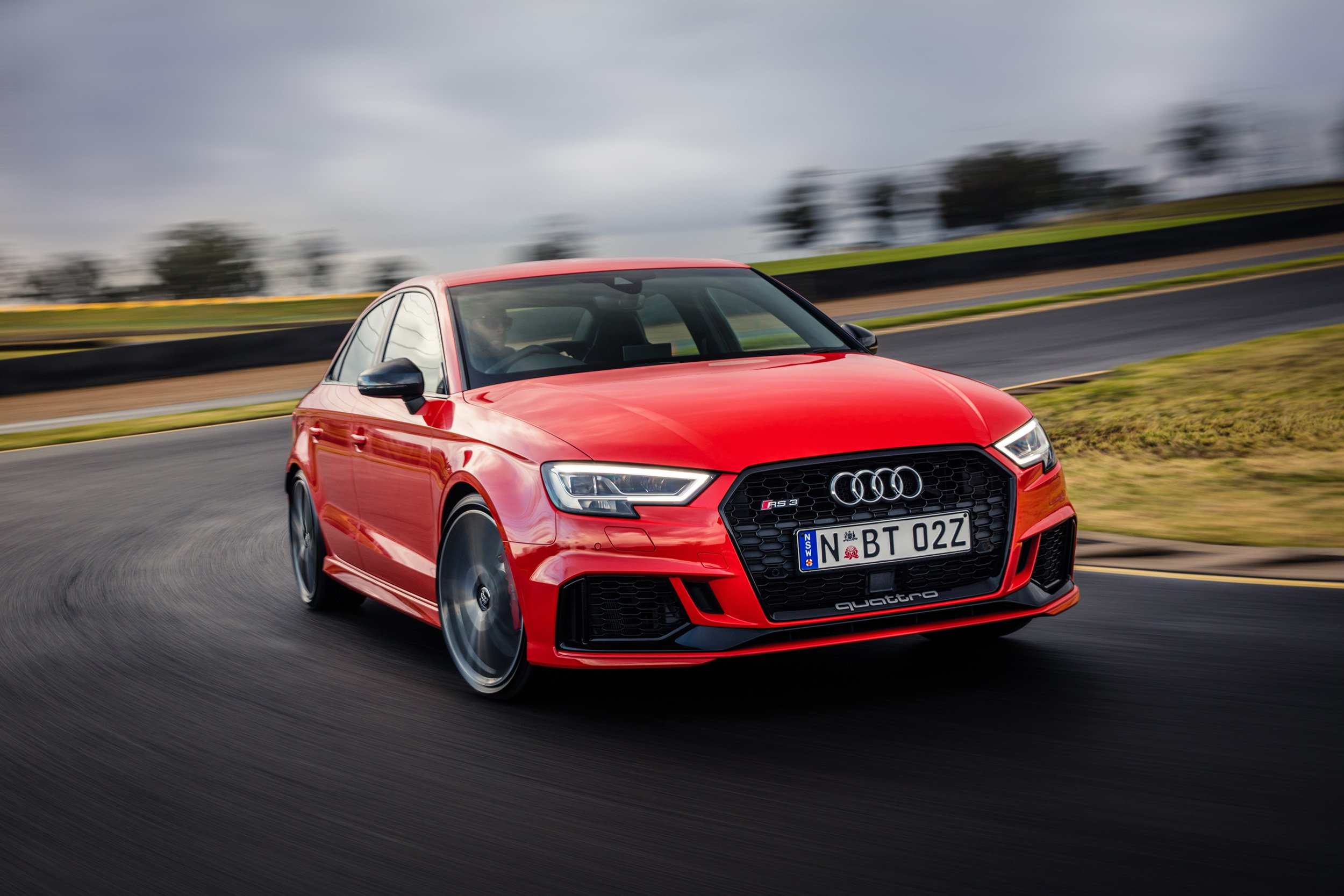 2017 Audi Rs3 Sedan Pricing And Specs Update Caradvice