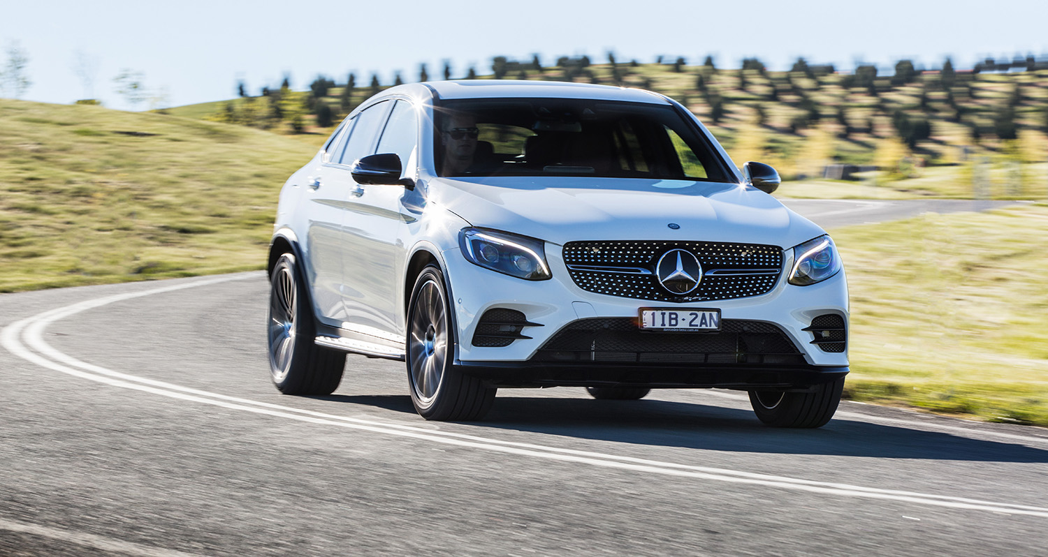 2017 Mercedes Benz Glc Coupe Pricing And Specs Sports Styled Suv Makes Local Debut Caradvice