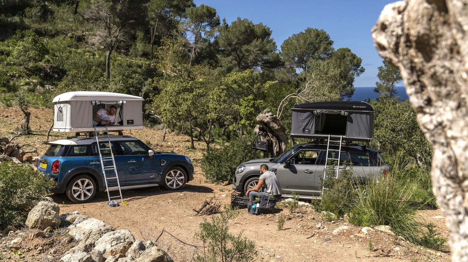 Mini Countryman rooftop tent option revealed | CarAdvice