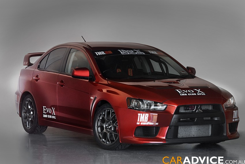 Mitsubishi Lancer Evolution TMR Club-Spec | CarAdvice