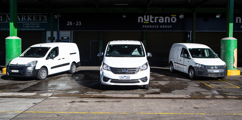 Budget van comparison: Citroen Berlingo v LDV G10 v