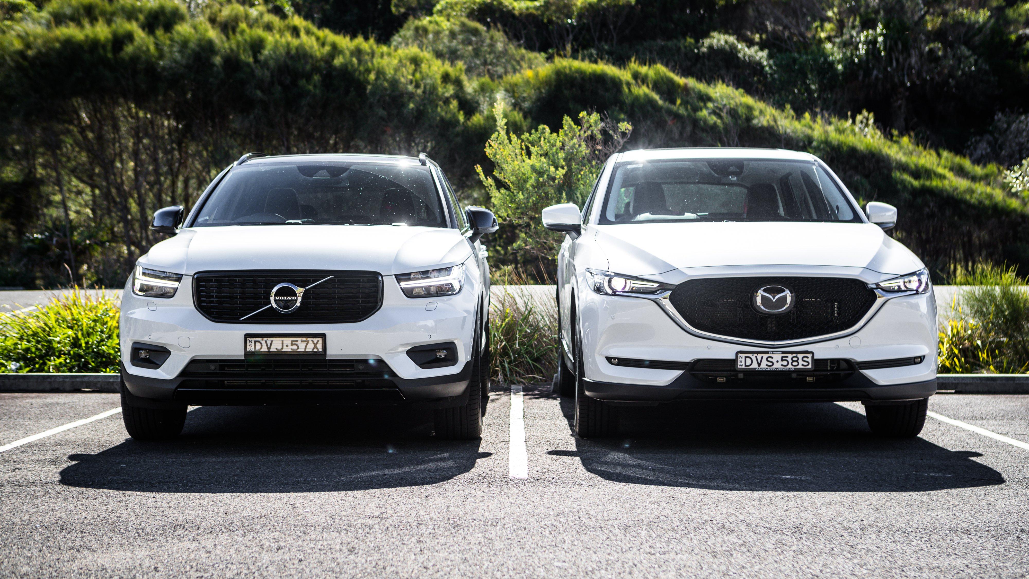 2018 Mazda Cx 5 V Volvo Xc40 Comparison Caradvice