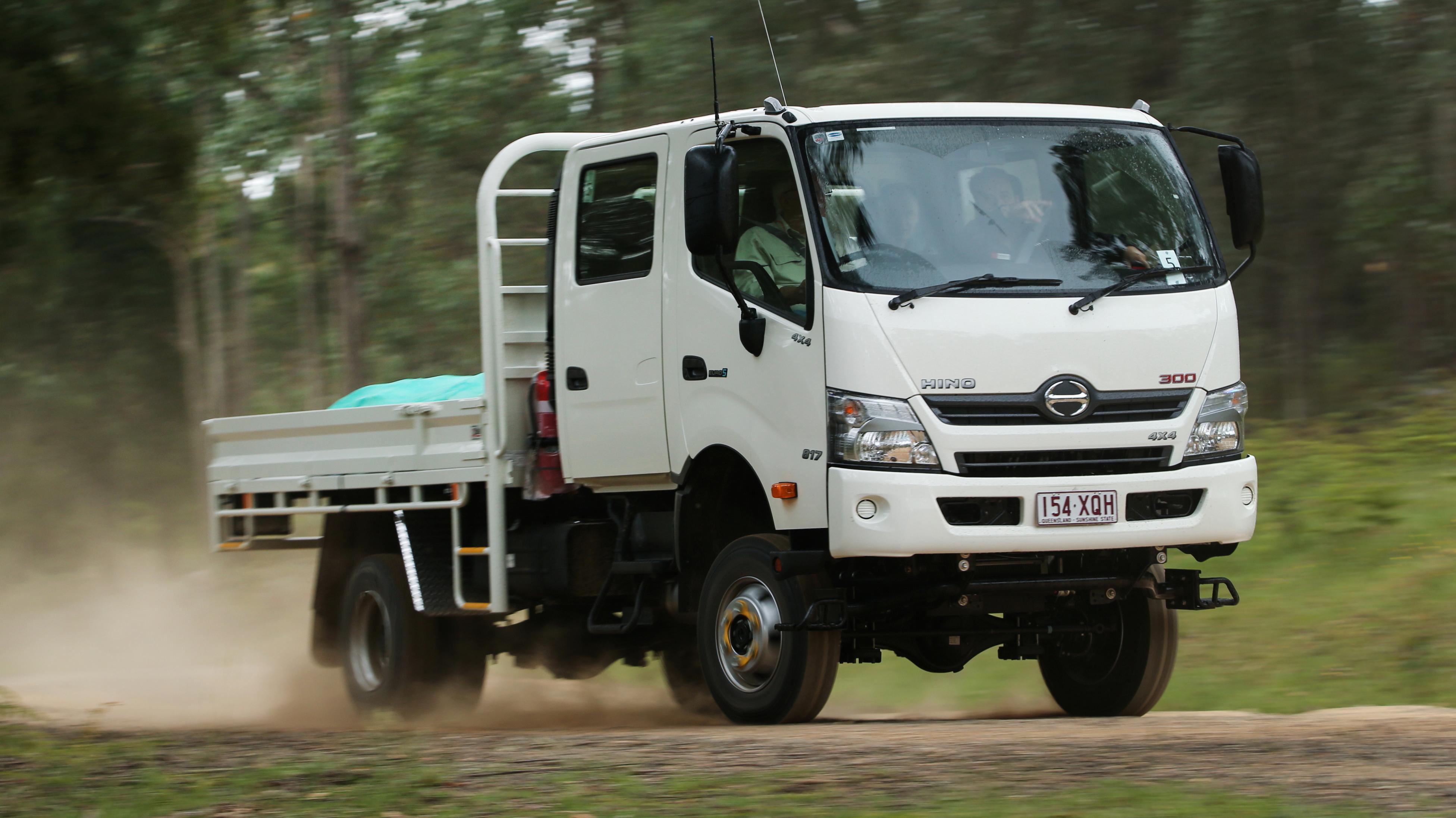 2019 Hino 300 817 4x4 review | CarAdvice