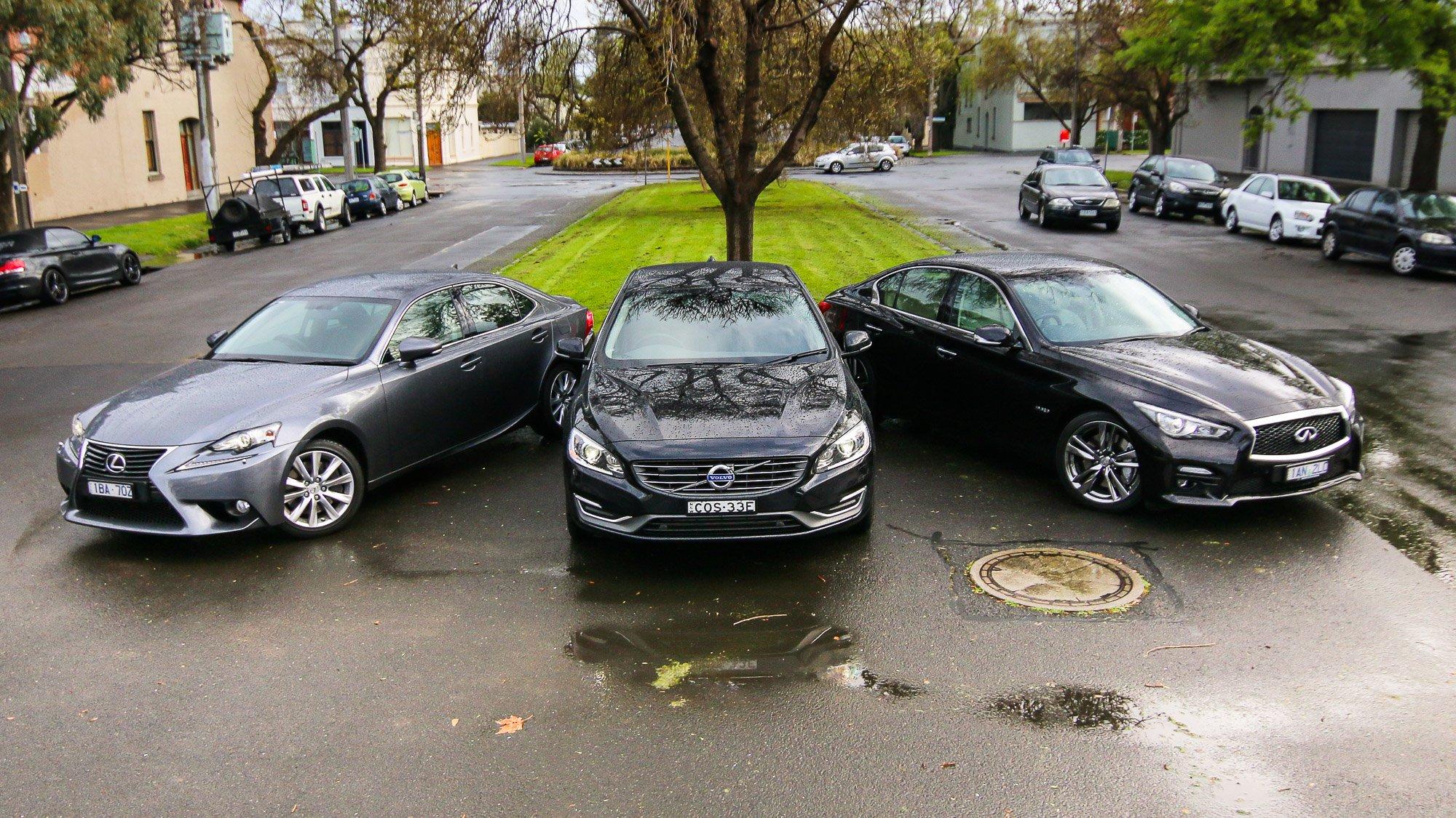 Luxury Sedan Comparison Round Two : Infiniti Q50 v Lexus IS