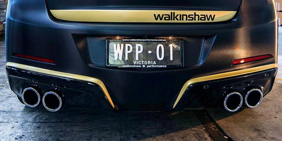 Walkinshaw Racing Limited Edition : V8 supercharger pack