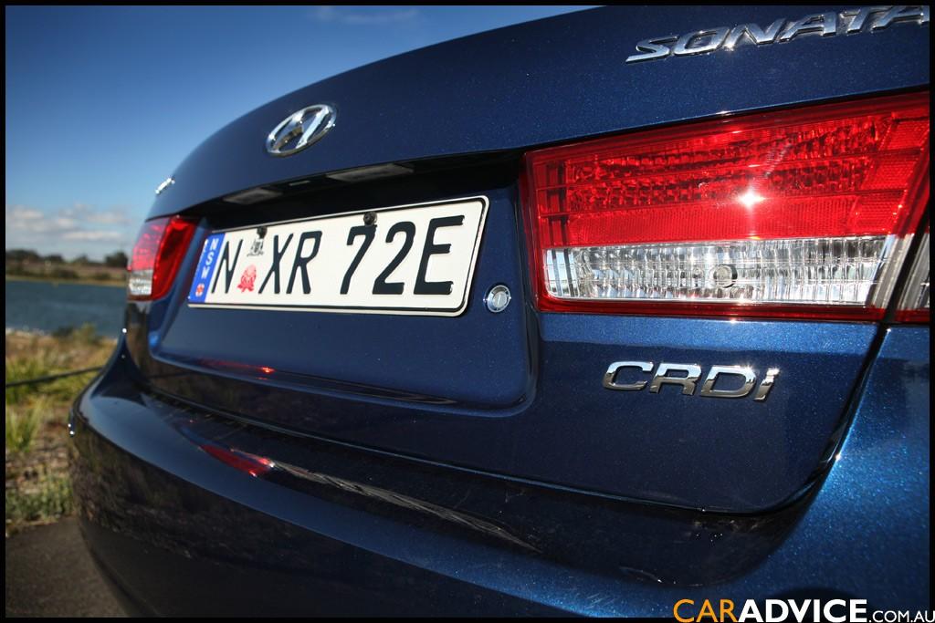 2009 Hyundai Sonata SLX CRDi Review   CarAdvice
