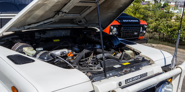 Land Rover Defender Old v New Comparison: 1983 110 County v 2016 110
