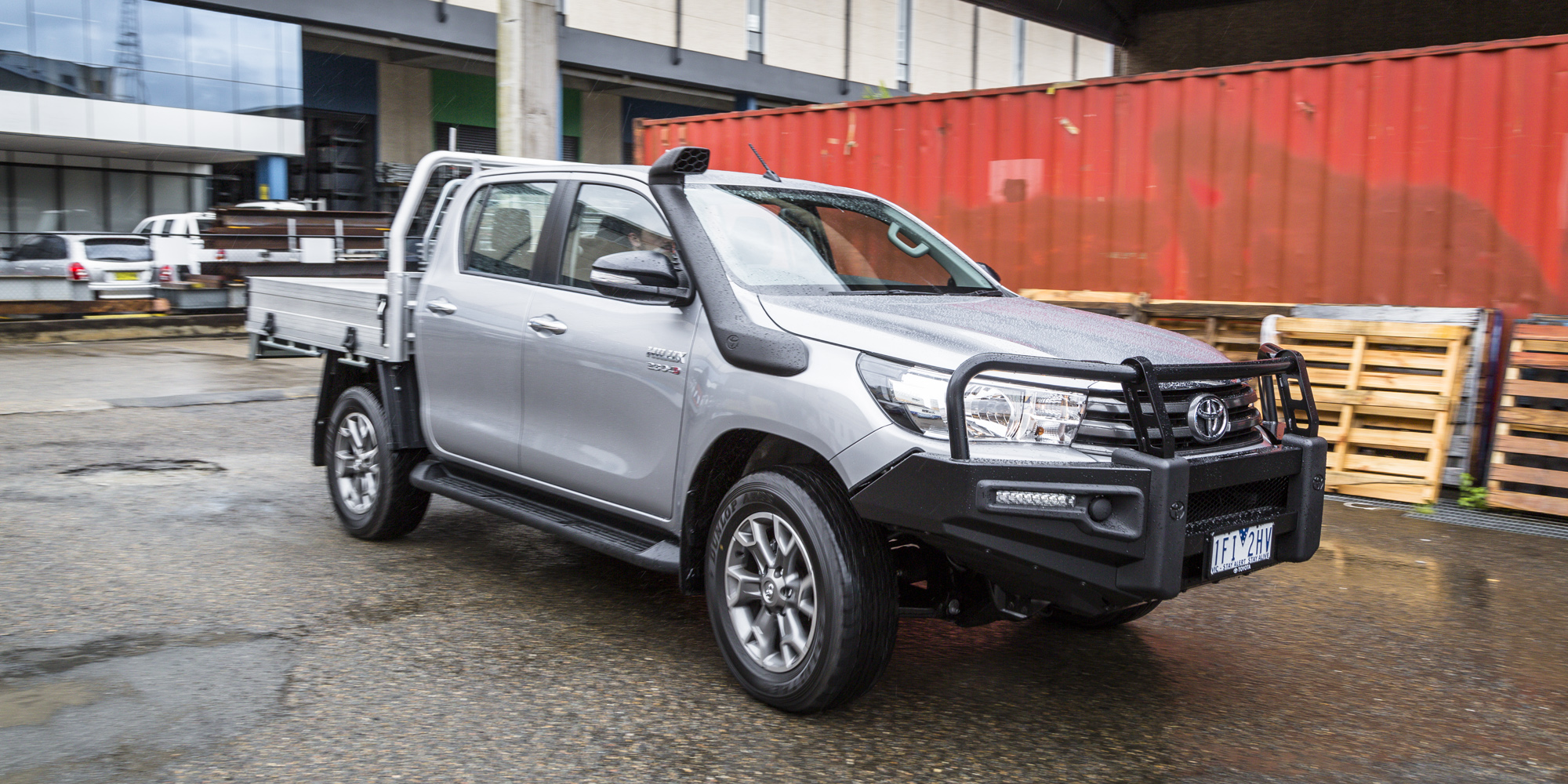 2016 Toyota Hilux Sr 4x4 Cab Chassis Review Caradvice