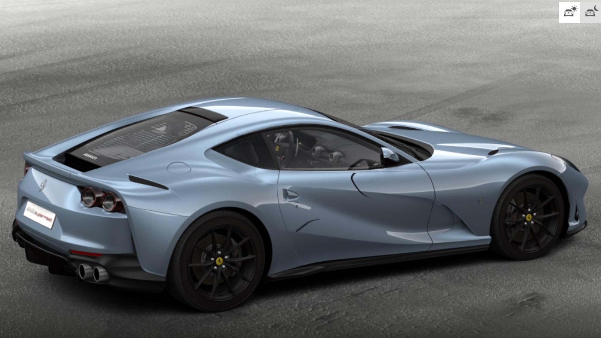 Configurator Challenge Ferrari Stable Caradvice