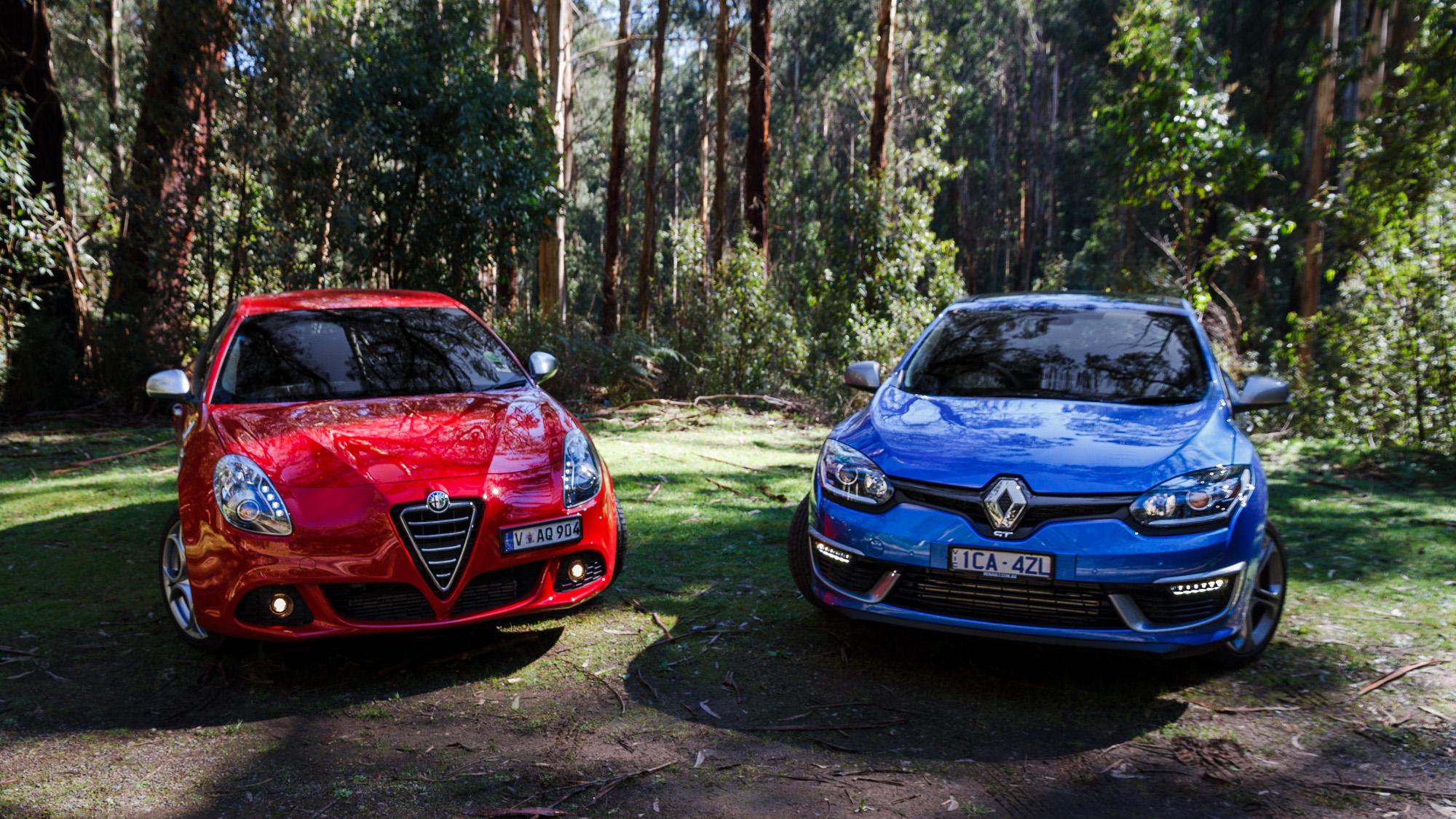 Renault Megane Gt 220 V Alfa Romeo Giulietta Qv Comparison Review Caradvice