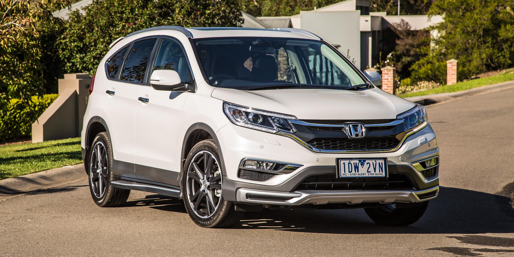 2015 Honda Cr V Series Ii Review Caradvice