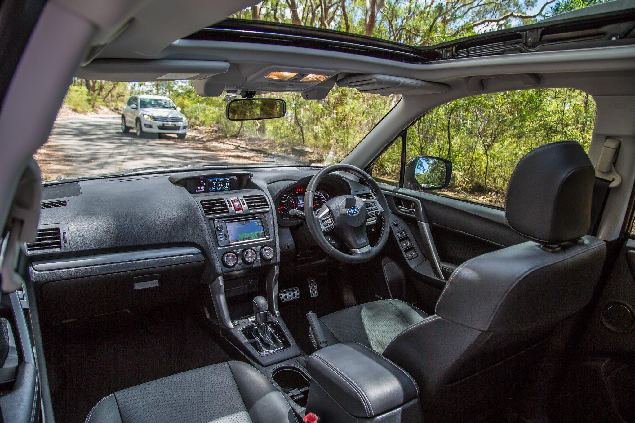 Medium SUV Comparison : Ford Kuga v Mazda CX-5 v Subaru