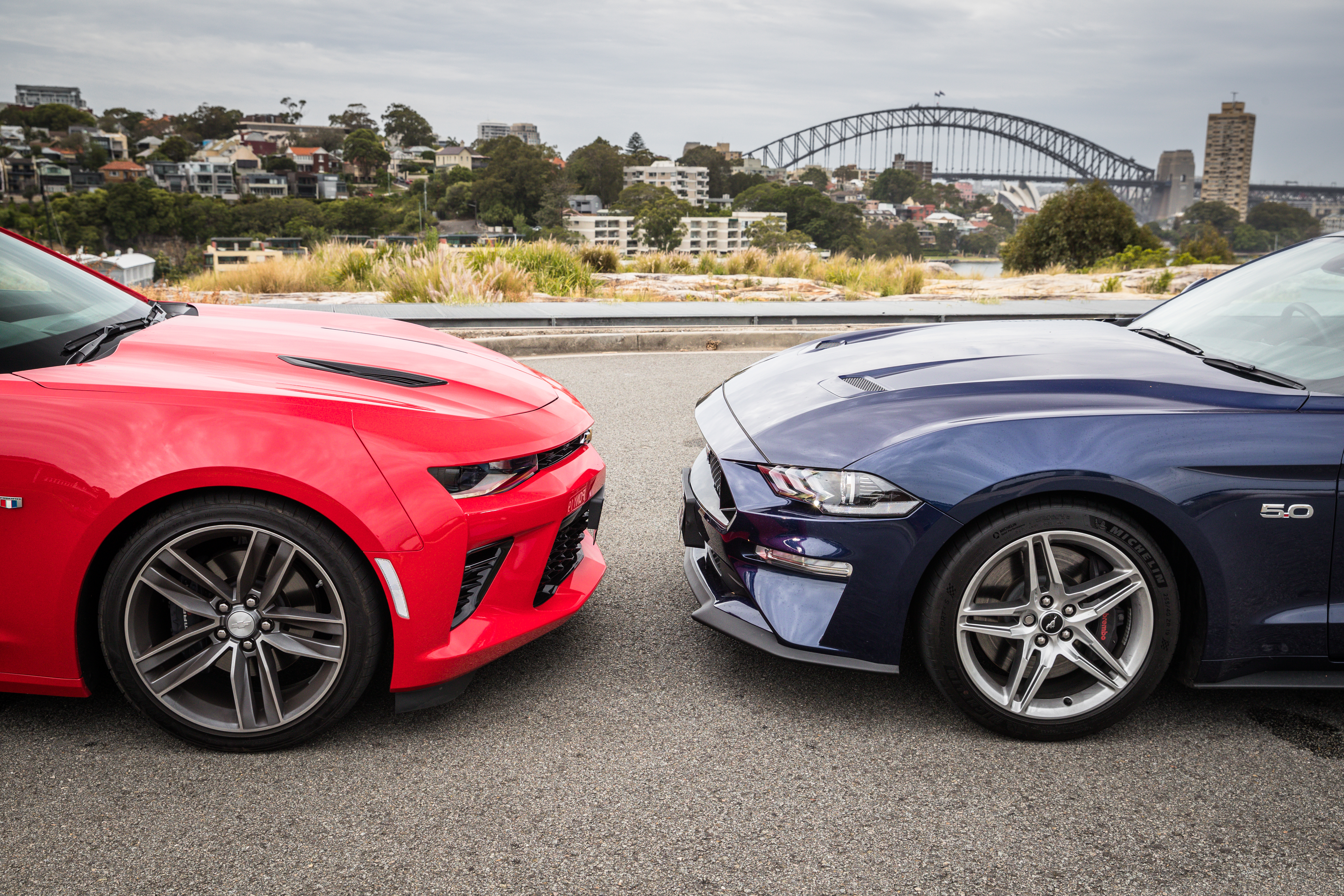 2019 Ford Mustang Gt V Chevrolet Camaro 2ss Comparison Caradvice