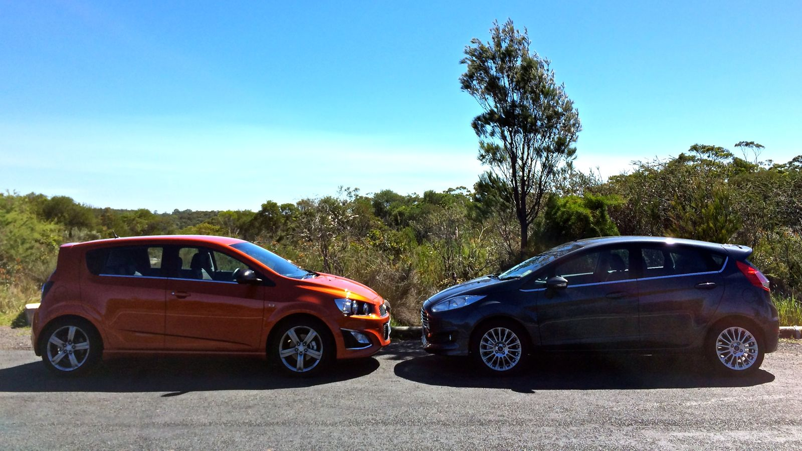 Ford Fiesta Sport V Holden Barina Rs Comparison Review Caradvice