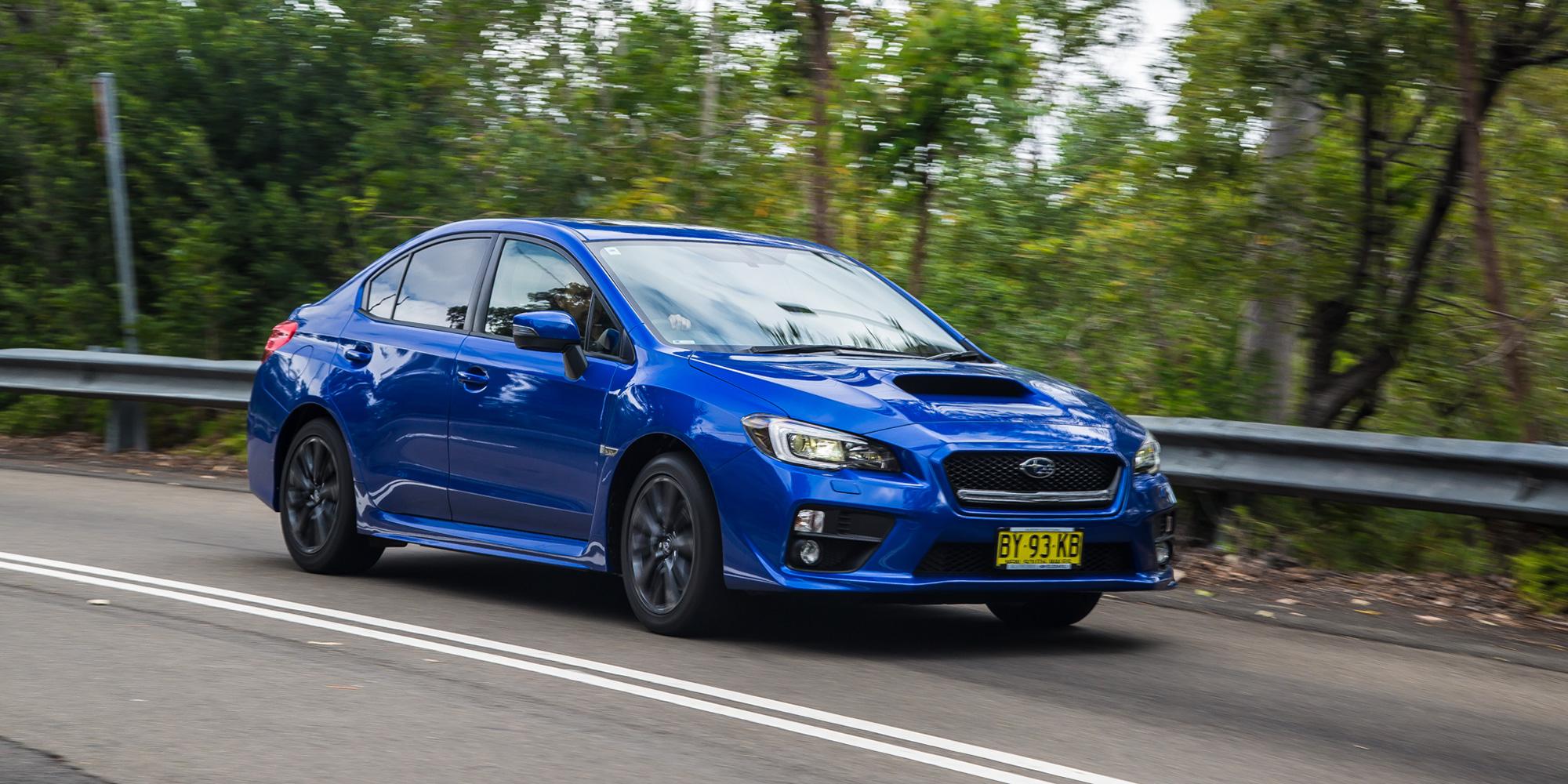 Subaru WRX v Subaru WRX STi : Comparison review | CarAdvice