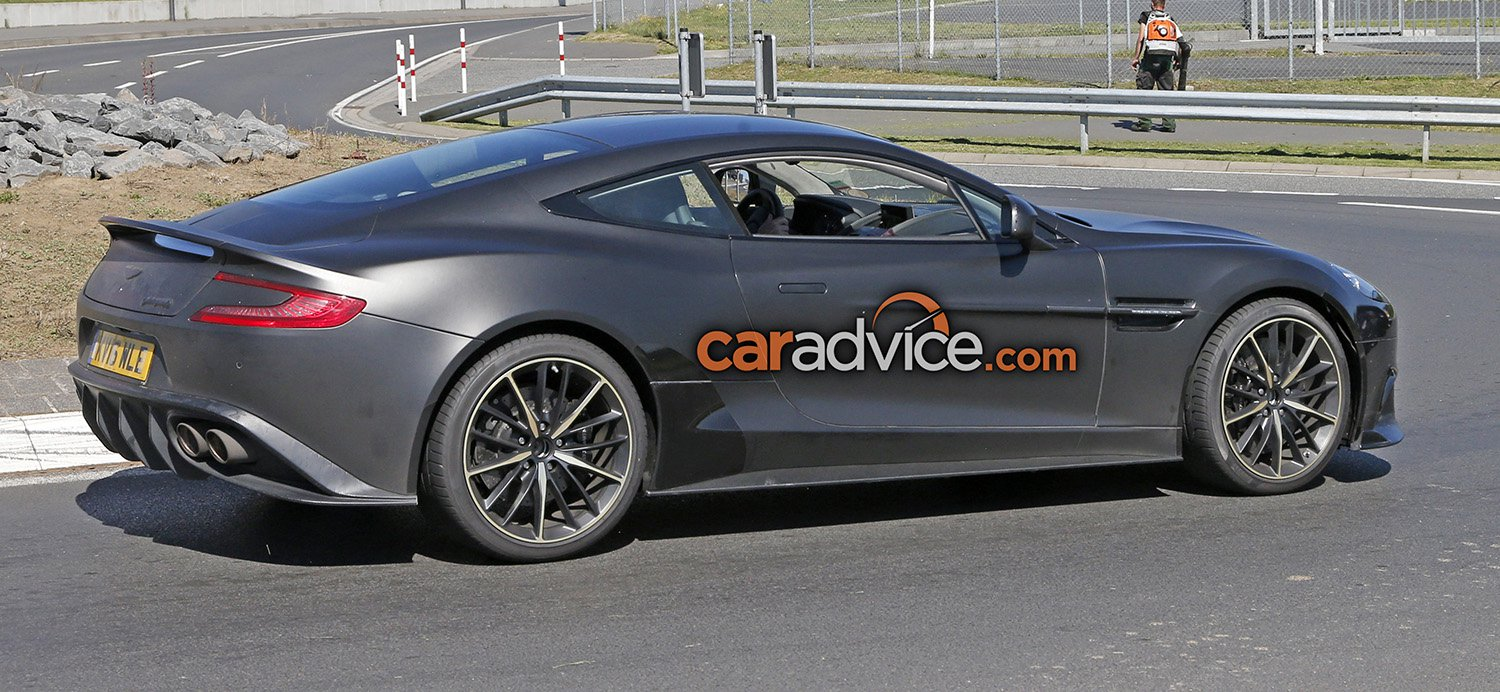 2017 Aston Martin Vanquish S Spied At The Nurburgring Caradvice