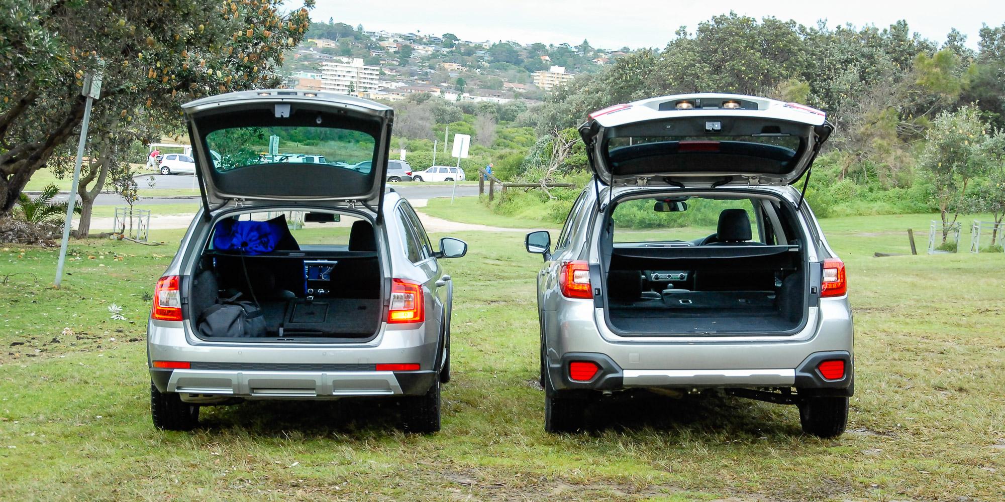 Skoda Octavia Scout 135TDI v Subaru Outback 2 0D Premium