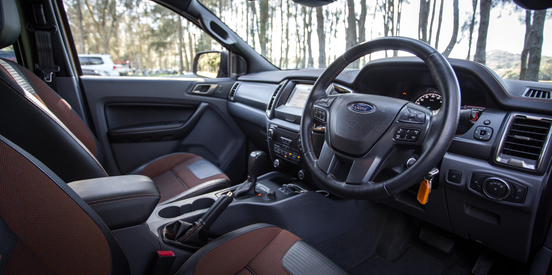 Ford Ranger Wildtrak v Toyota HiLux TRD comparison | CarAdvice