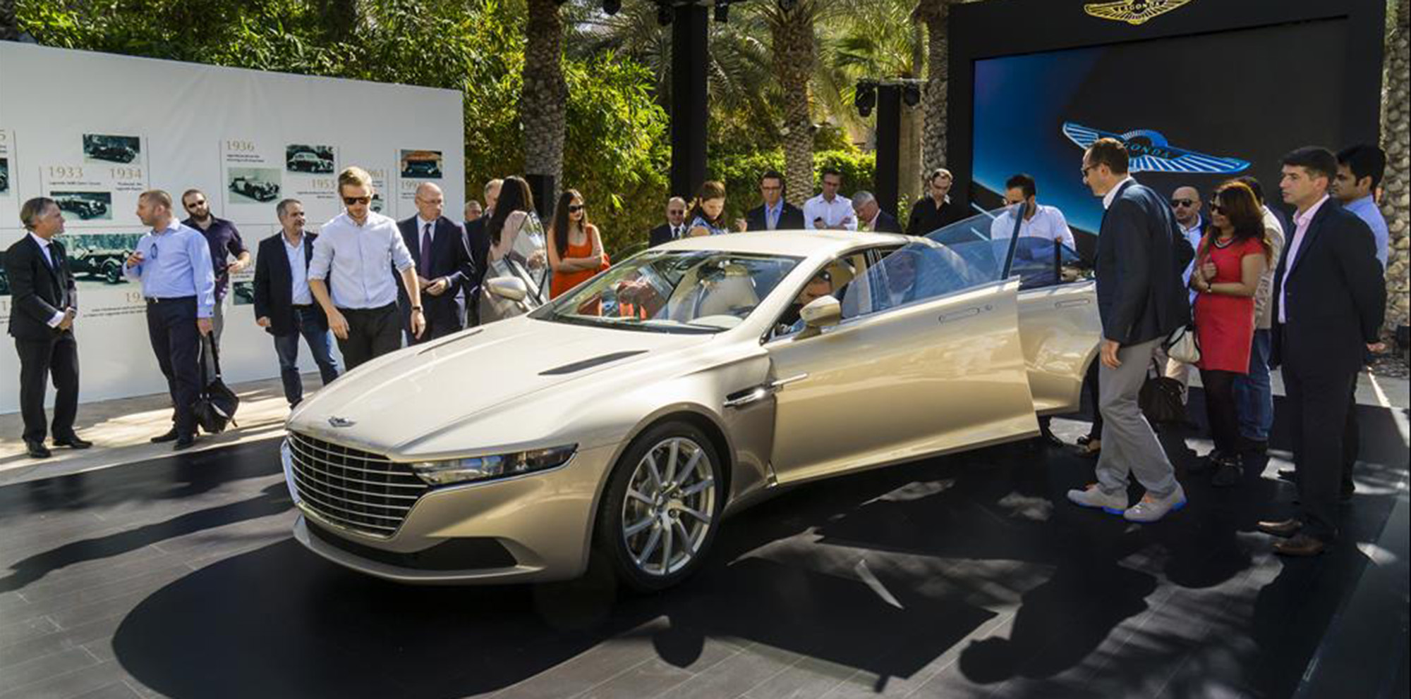 Aston Martin Lagonda Taraf will available outside Middle East, but ...