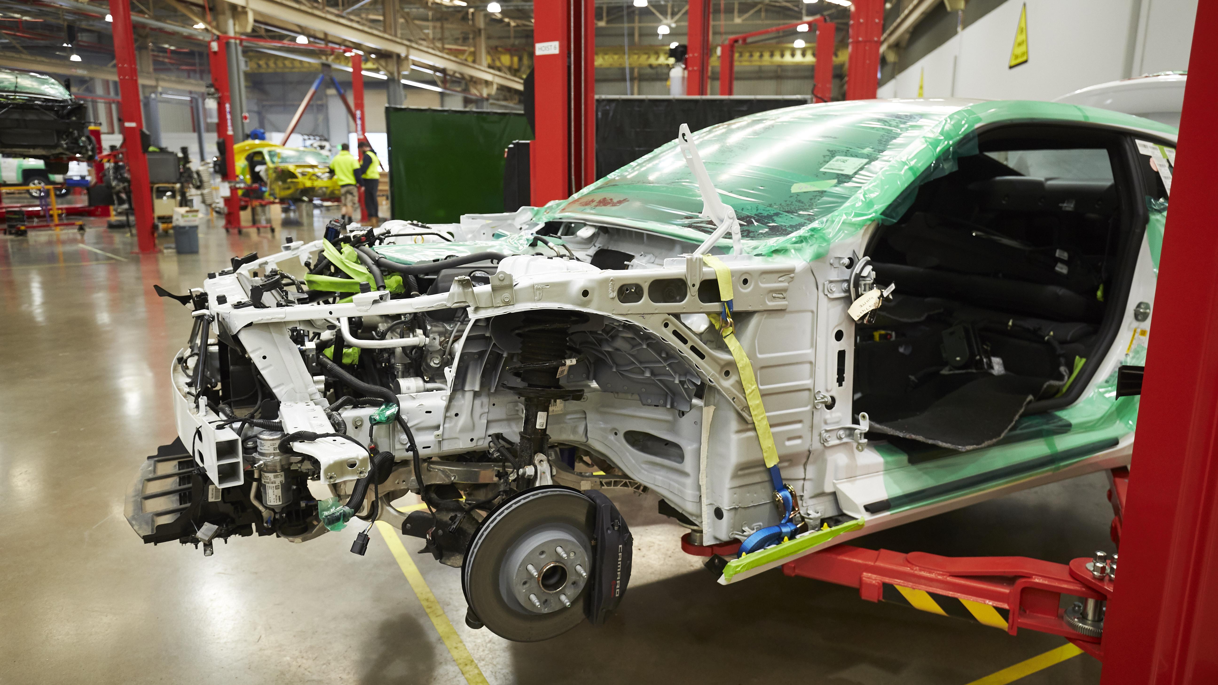 2018 Chevrolet Camaro: How HSV 'builds' it for Australia | CarAdvice