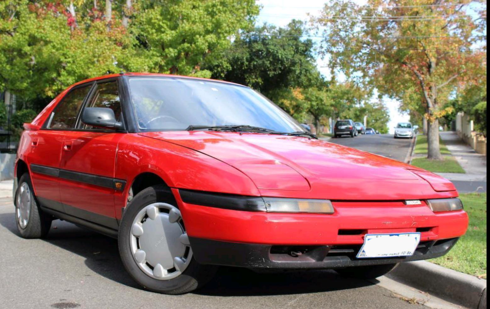 1990 Mazda 323 Astina Review | CarAdvice