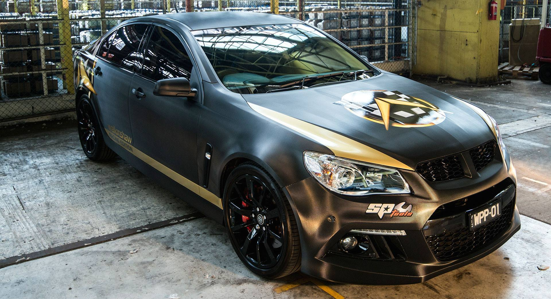 Walkinshaw Racing Limited Edition : V8 supercharger pack boosts HSV