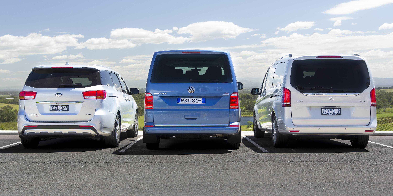 Luxury people-mover comparison: Kia Carnival v Mercedes-Benz V-Class