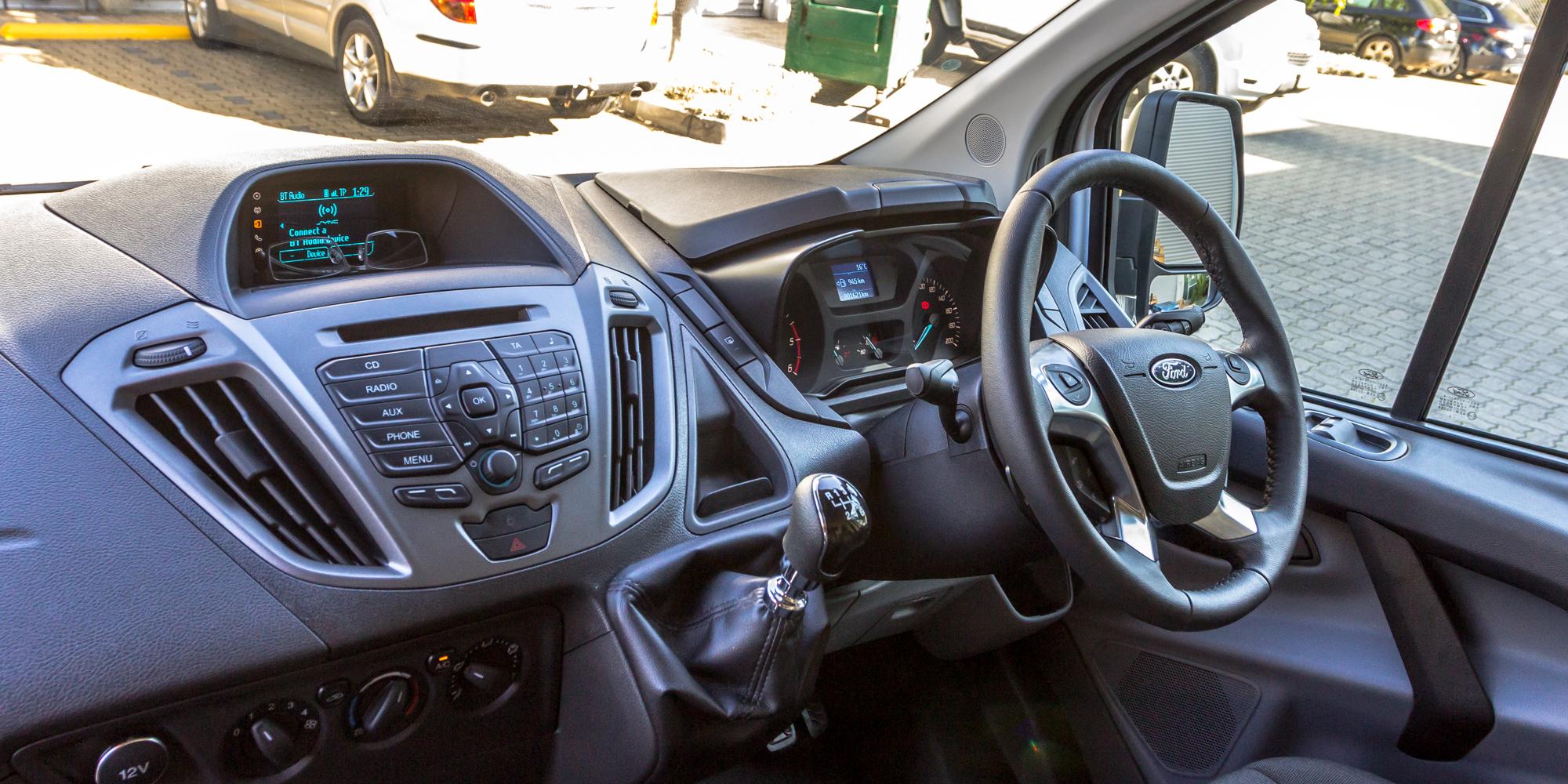Ford Transit Custom v Renault Trafic: Medium van comparison