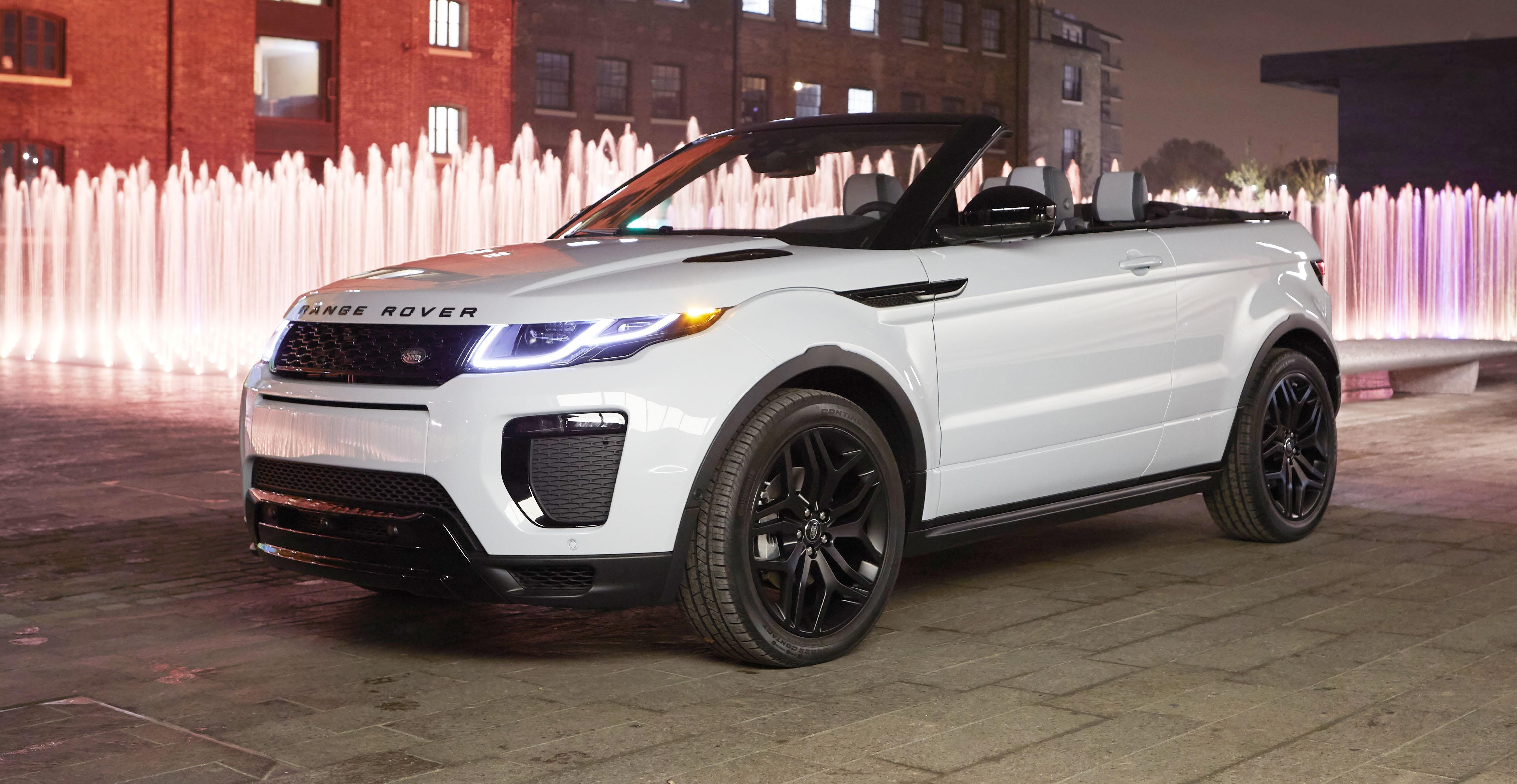 Range Rover Convertible >> Range Rover Evoque Convertible Revealed 84 440 Ragtop In