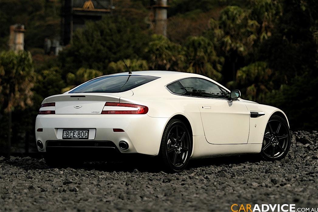 2007 Aston Martin V8 Vantage Road Test   CarAdvice