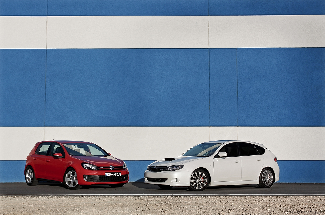 Wrx Vs Gti >> Volkswagen Golf Gti Vs Subaru Impreza Wrx Comparison Review Caradvice