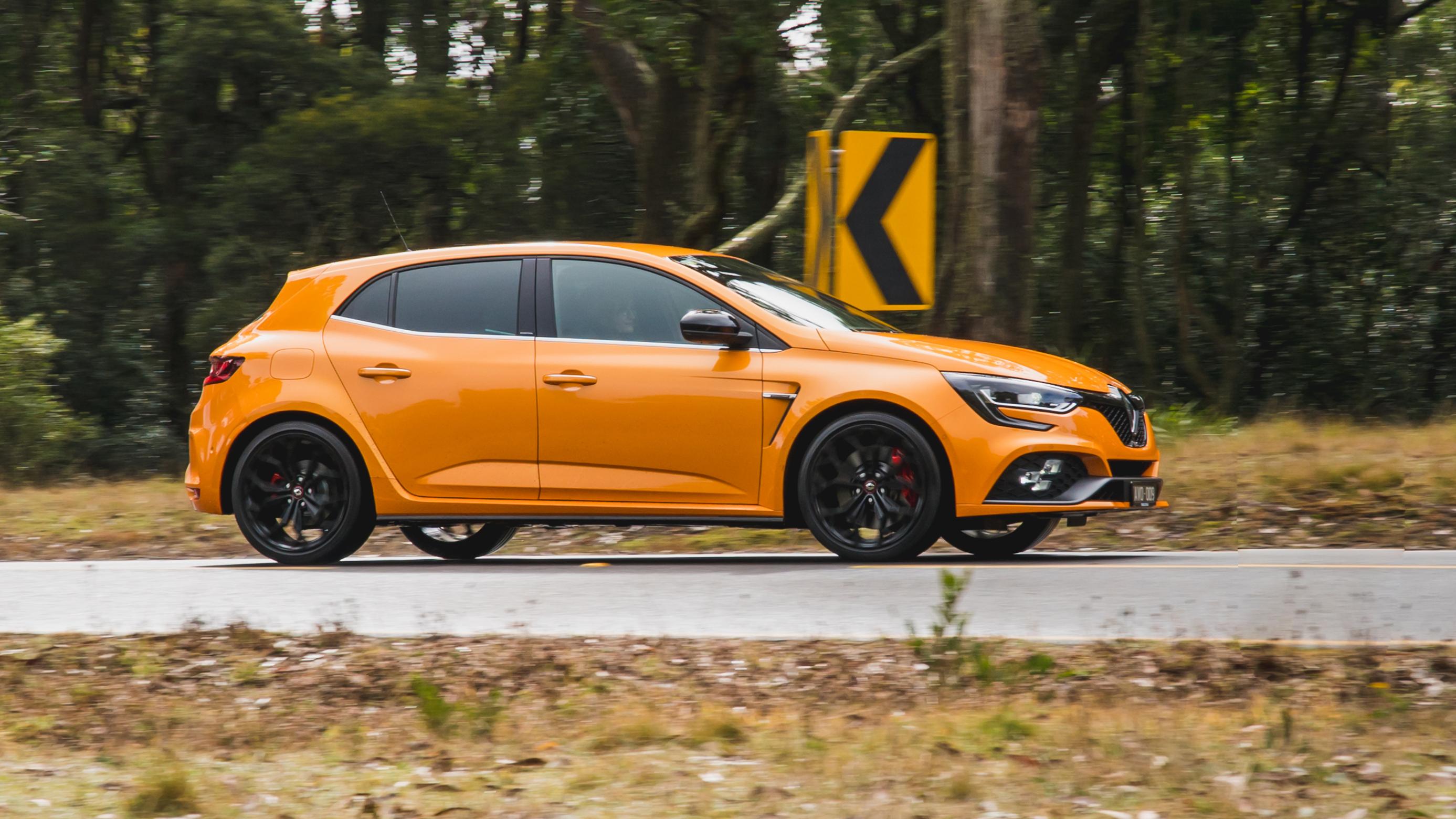 2019 Renault Megane RS v Ford Focus RS v Honda Civic Type R