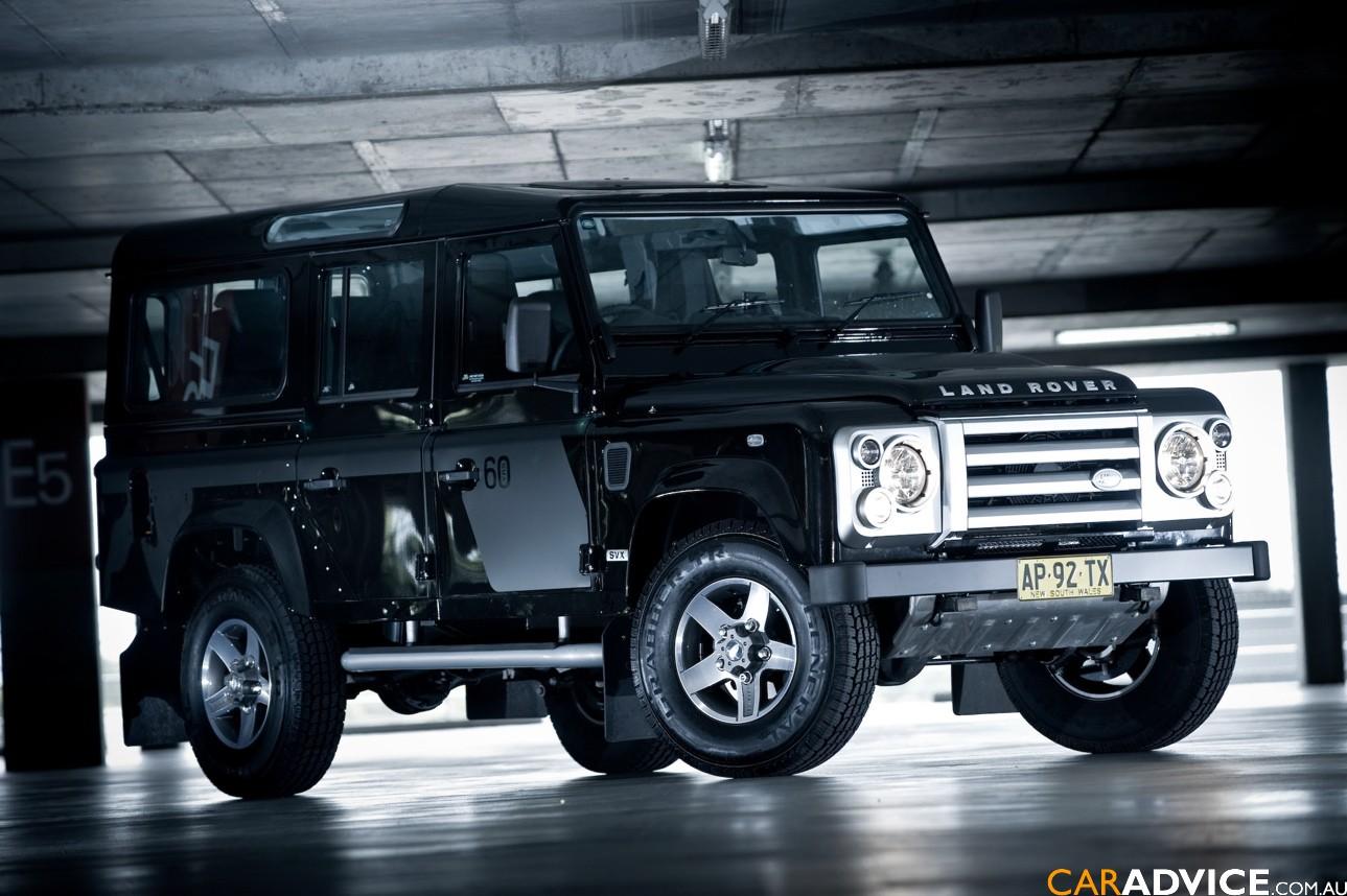 2008 Land Rover Defender SVX Review   CarAdvice