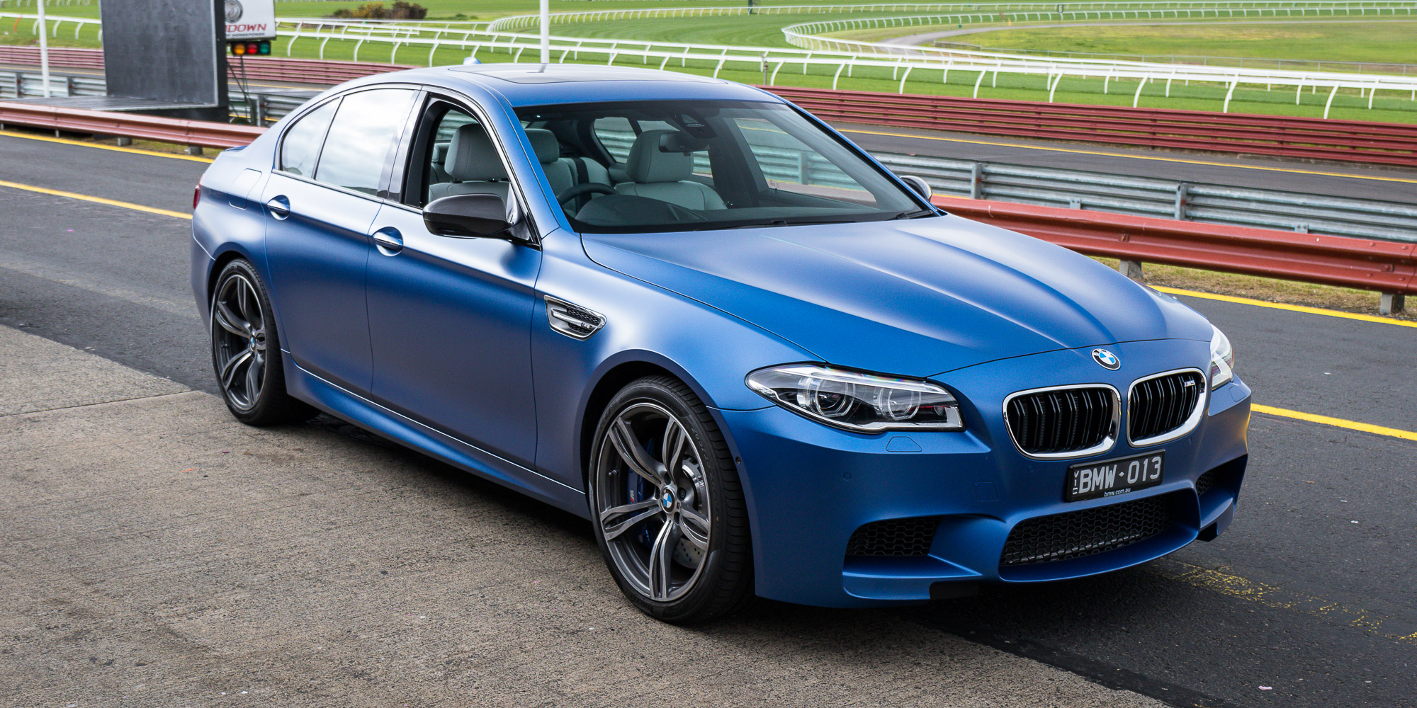2015 BMW M5 Pure Edition Review: Track test   CarAdvice