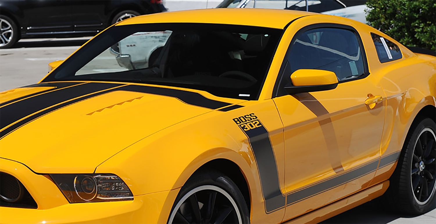 2018 ford mustang could get boss 302 variant teased in press photos