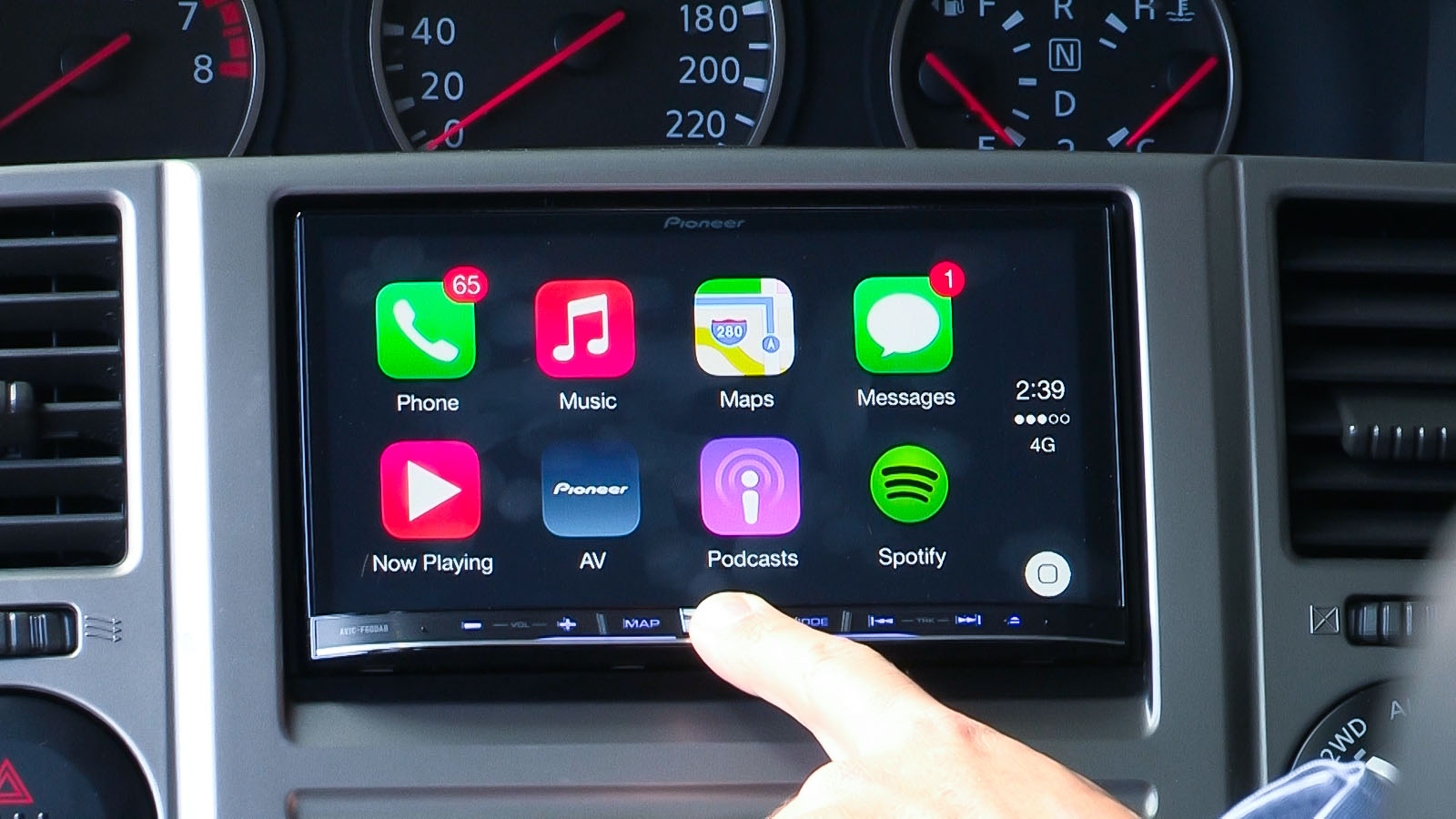 Apple Carplay By Pioneer First Test Caradvice