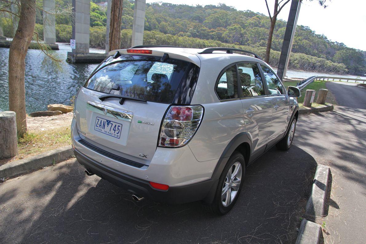CAPTIVA SUV Diesel Non Locking Fuel Cap OCT 2006 Onwards