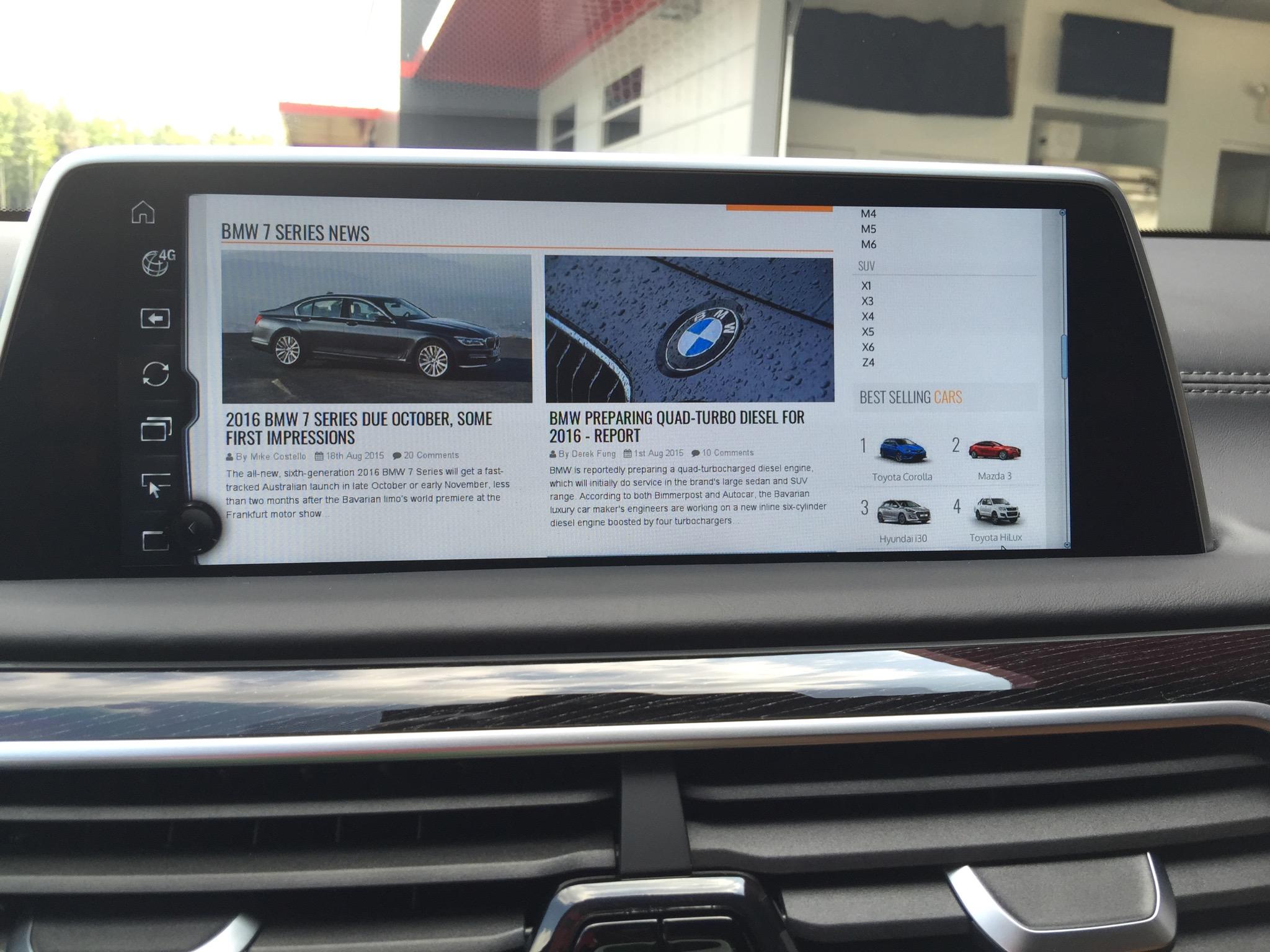 BMW iDrive 5 0 Review | CarAdvice