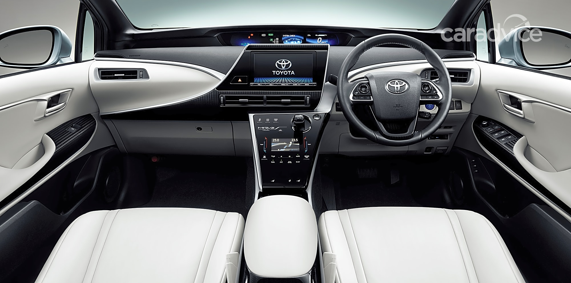 Prado Auto Sales >> Toyota Mirai hydrogen fuel-cell vehicle detailed in full ...