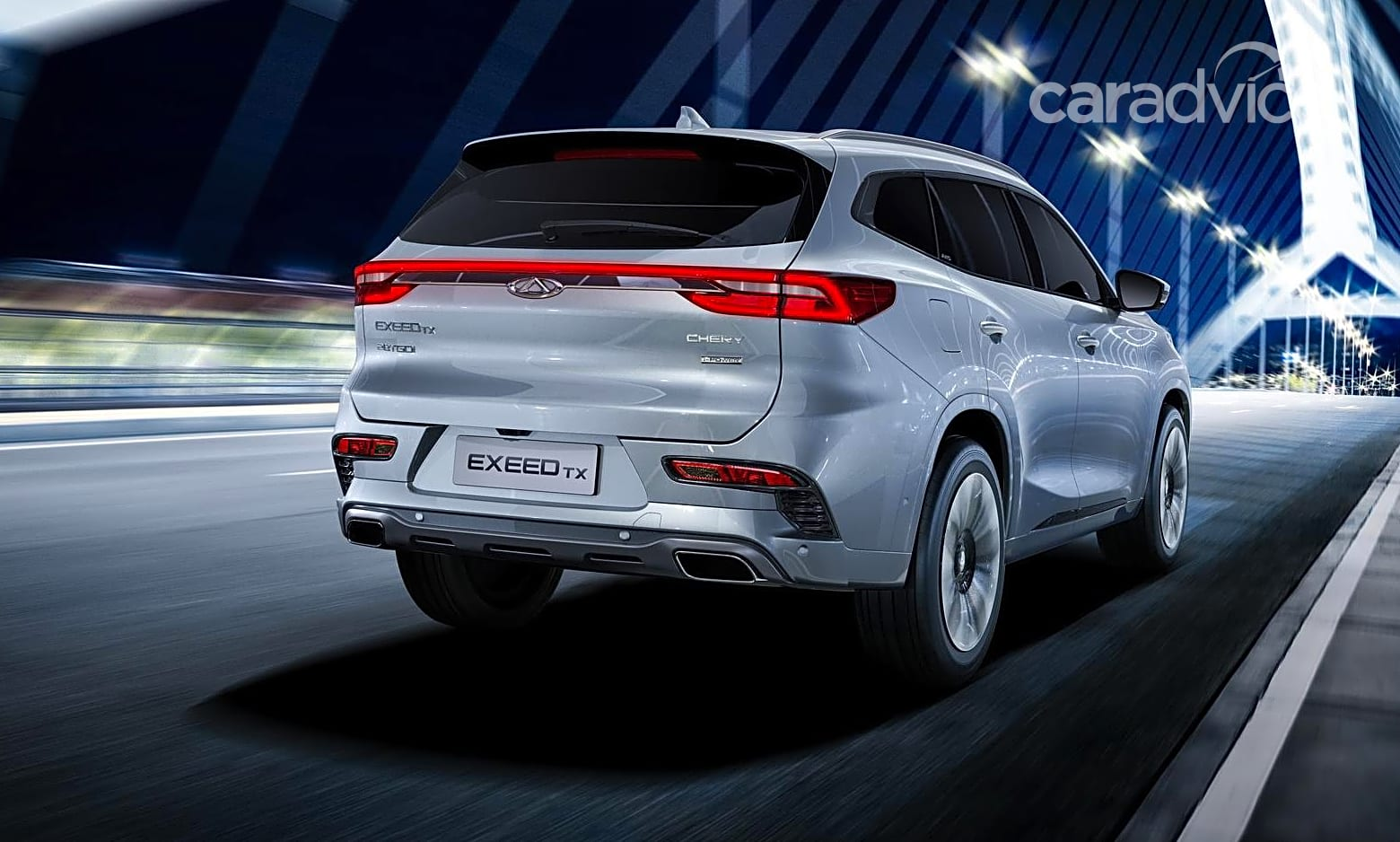 Exeed TX: China's Chery launches new brand and SUV for ...