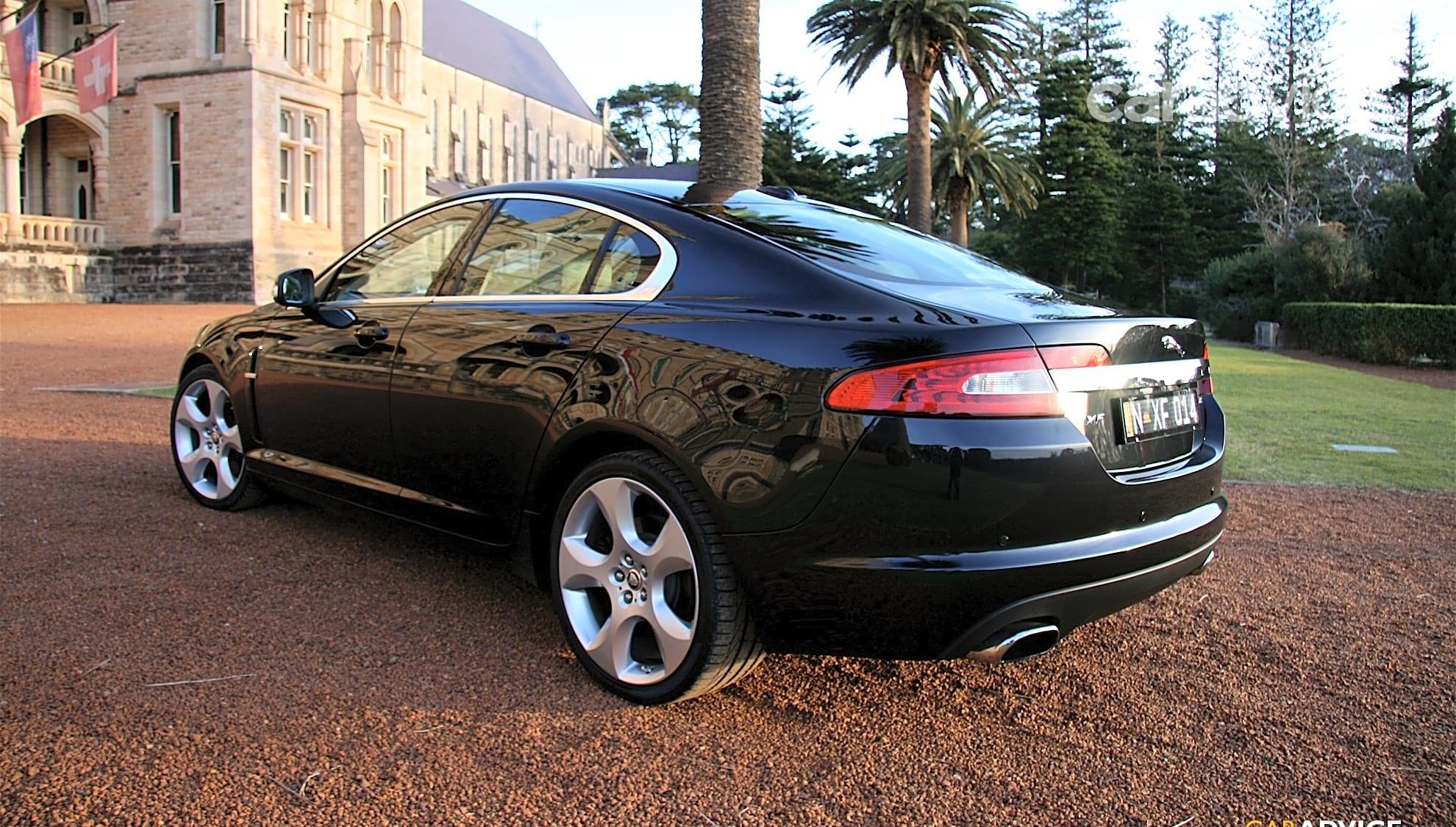 2008 Jaguar XF SV8 Review & Road Test   CarAdvice