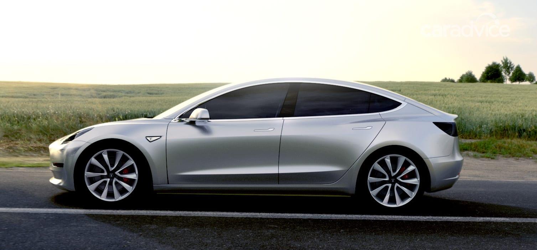 Tesla Model 3 unveiled, Australian debut due 2018   CarAdvice