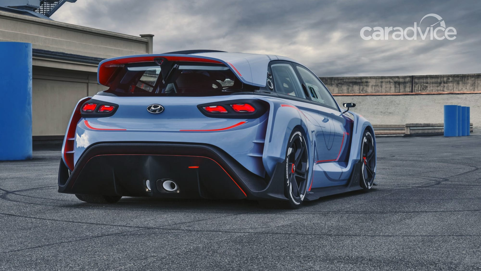hyundai rn30 high performance concept revealed i30 n preview debuts in paris caradvice