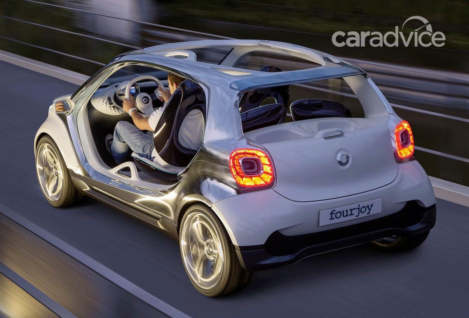 Smart Fourjoy Concept Doorless City Buggy Revealed