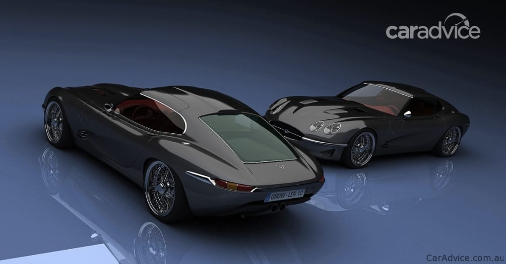 2011 Jaguar Growler E celebrates original E-Type   CarAdvice