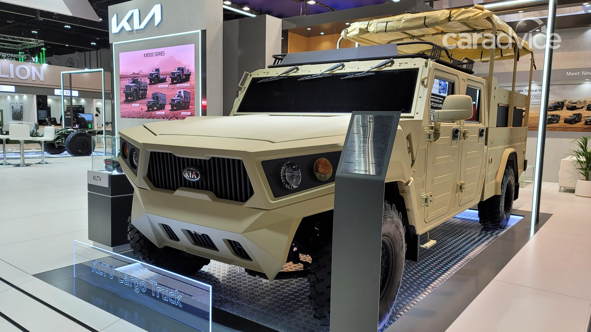 Kia's Hummer rival: Light Tactical Cargo Truck military concept unveiled - 2 of 2