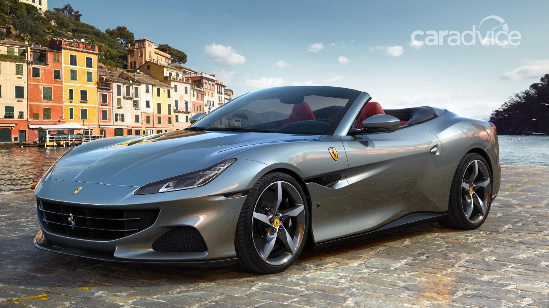 2021 ferrari portofino m revealed: entry-level convertible