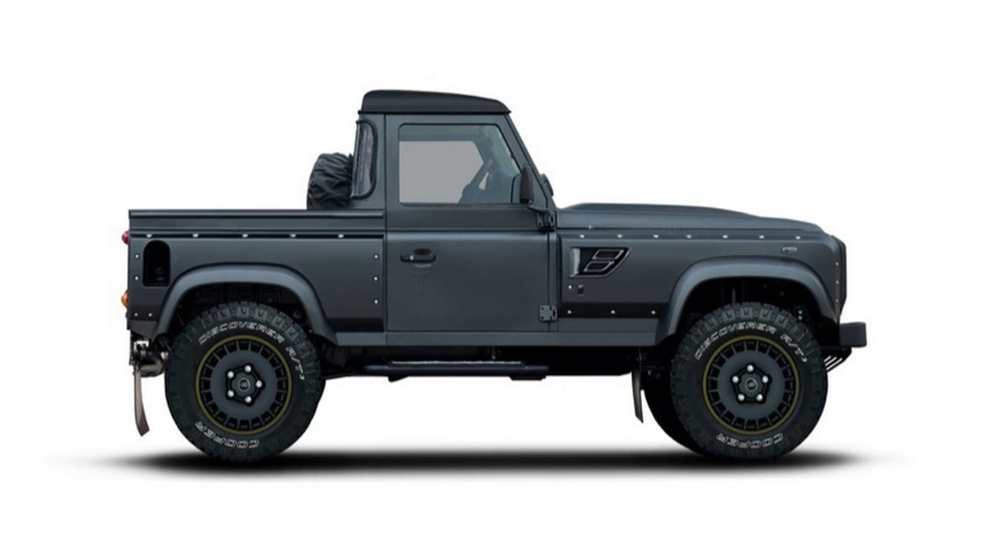 Kahn Flying Huntsman Pickup adds aggro to Land Rover ...