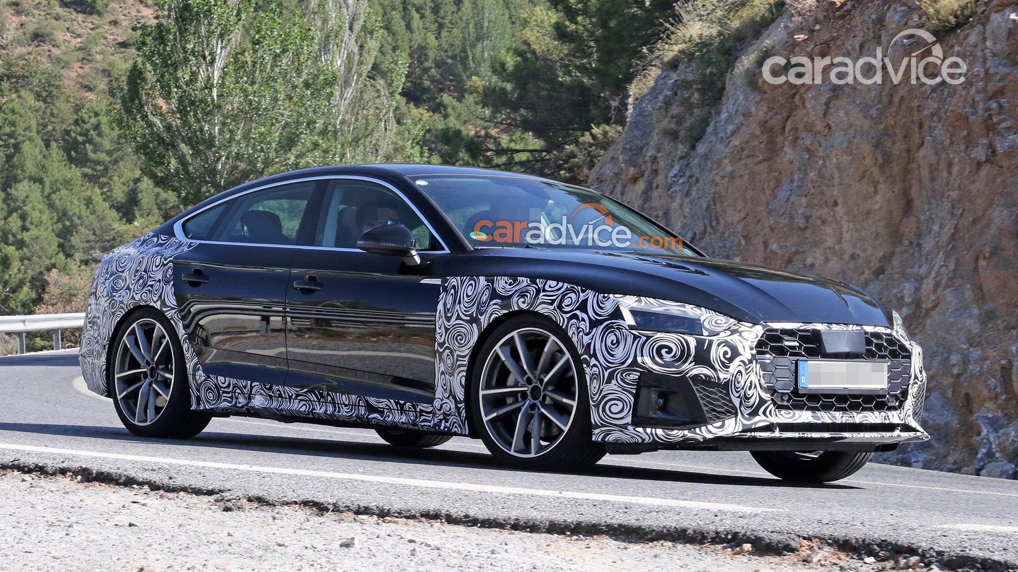 2020 Audi A5 Sportback spied | CarAdvice