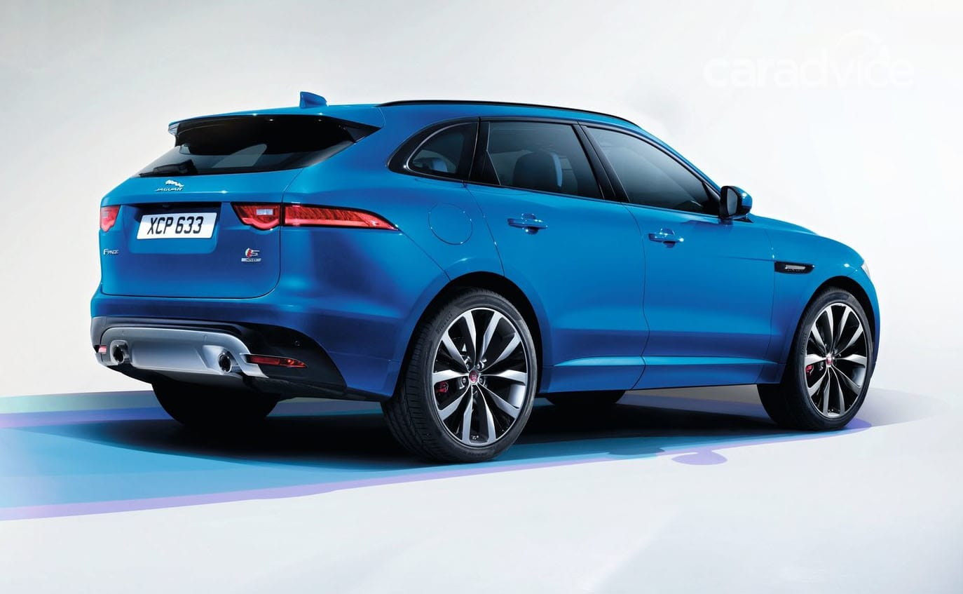 2016 Jaguar F-Pace pricing and specifications: $74,340 ...